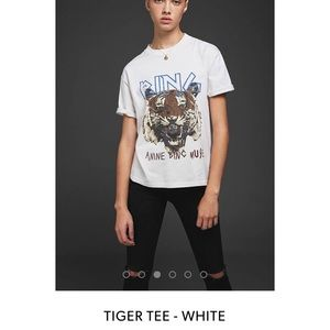 Anine Bing Other - TIGER TEE - WHITE